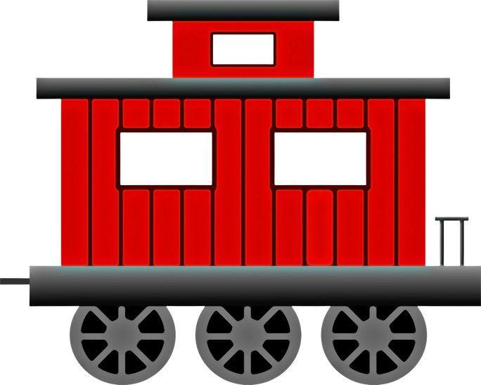 Train Image, Train Poster, Caboose Image, Train Wall Art, Train.