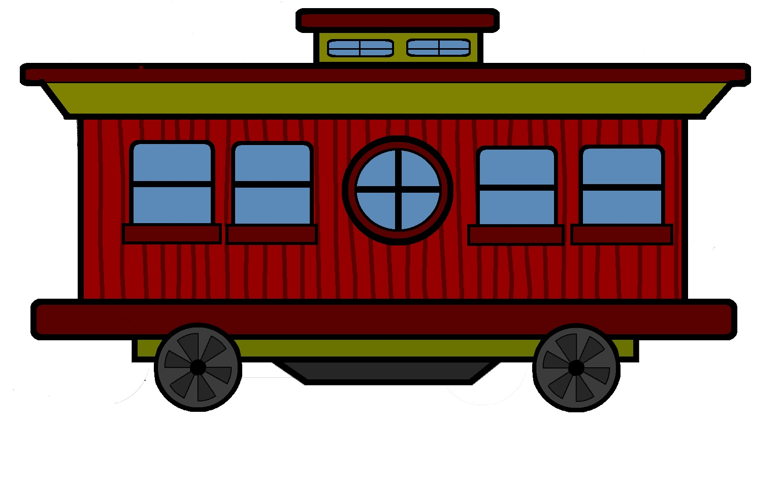 Train caboose clipart 4 » Clipart Station.