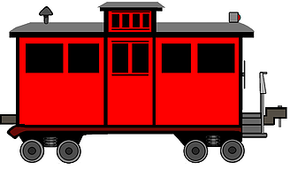 Train caboose clipart 2 » Clipart Station.