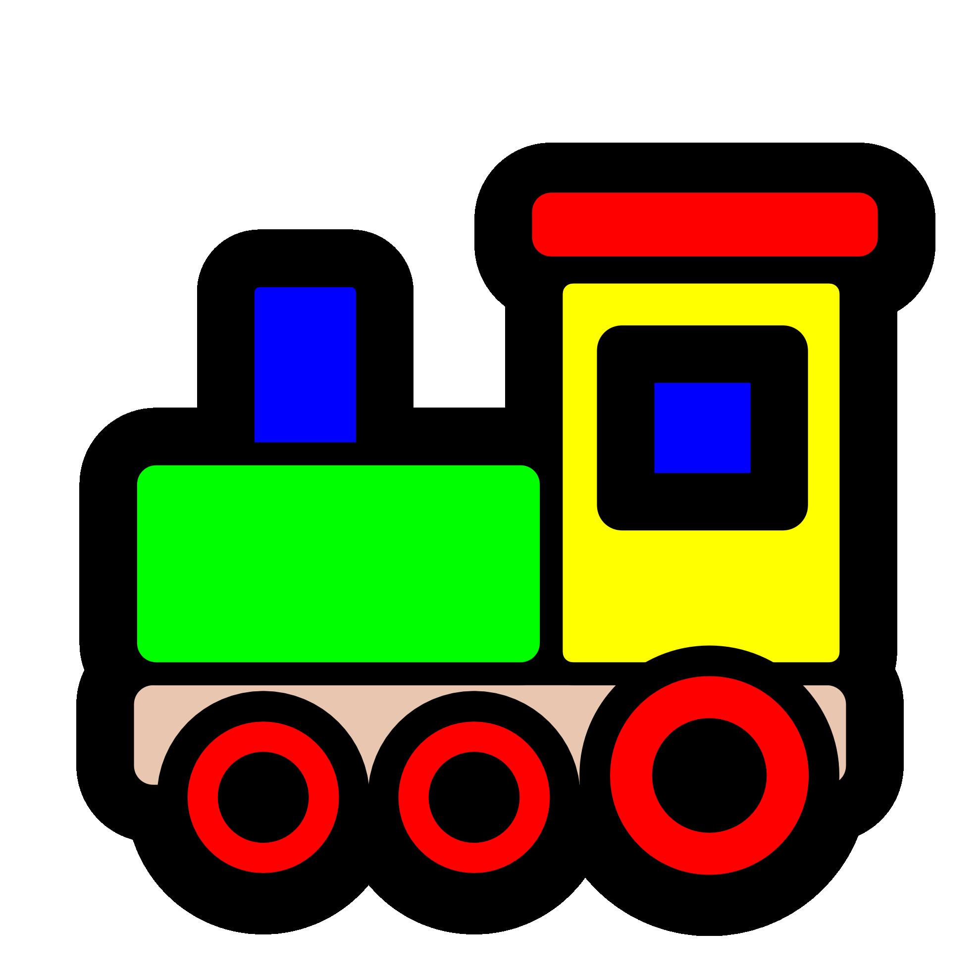 Train Cartoon Clip Art.