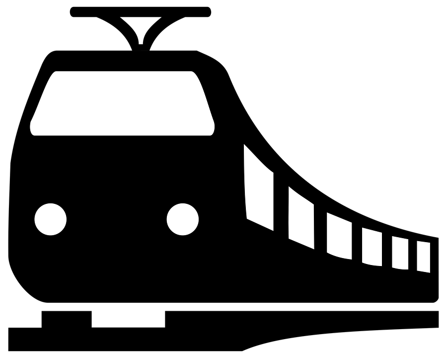 Train Clipart transparent PNG.