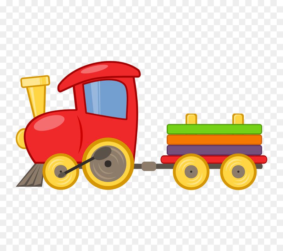 Toy Trains & Train Sets Drawing Locomotive Clip Art.