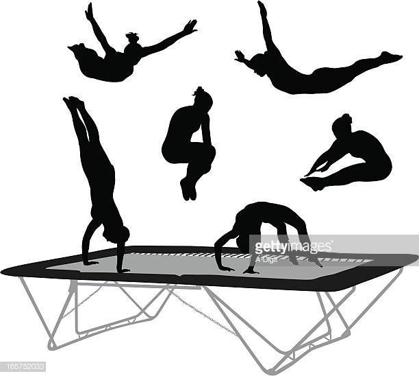 60 Top Trampoline Stock Illustrations, Clip art, Cartoons and Icons.