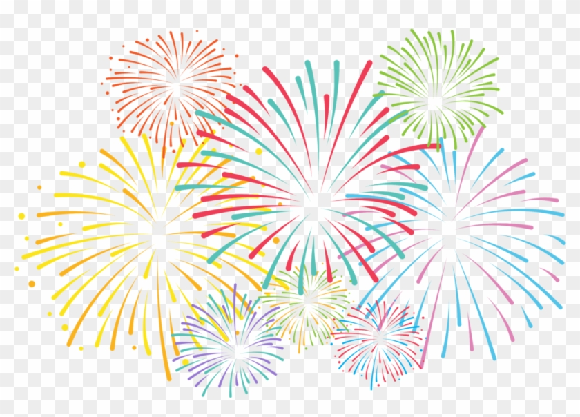 Pin Fireworks Clipart Black And White Transparent.