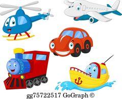 Transportation Clip Art.