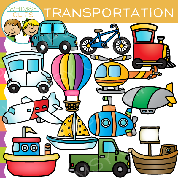 Means Of Transportation Clipart.