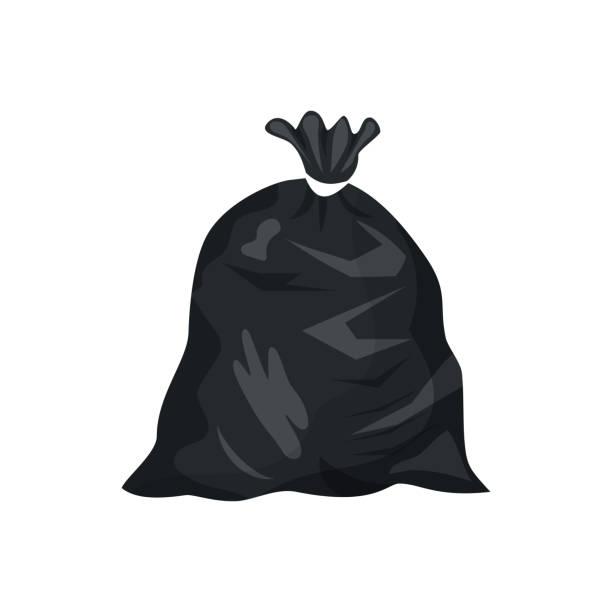 Best Trash Bag Illustrations, Royalty.