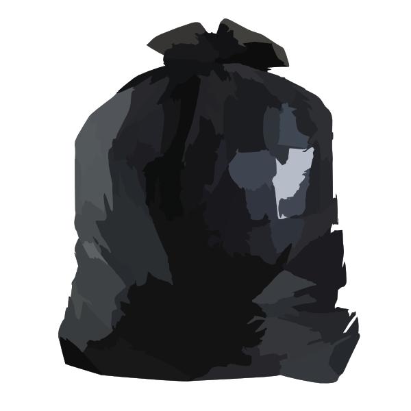 Stout P K Insect Repellent Trash Bag Clip Art at Clker.com.