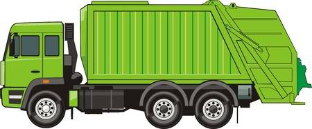 8,989 Garbage Truck Cliparts, Stock Vector And Royalty Free Garbage.