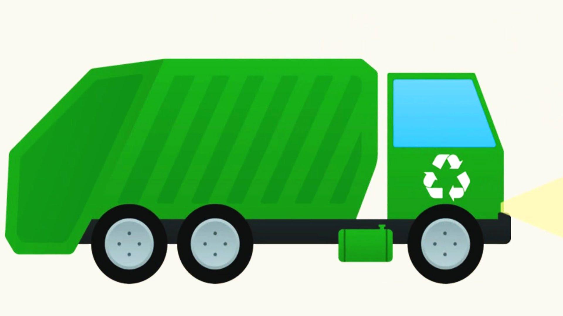 Trash Truck Clipart.