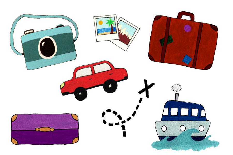 Travel clip art travel clipart clipartix 2.