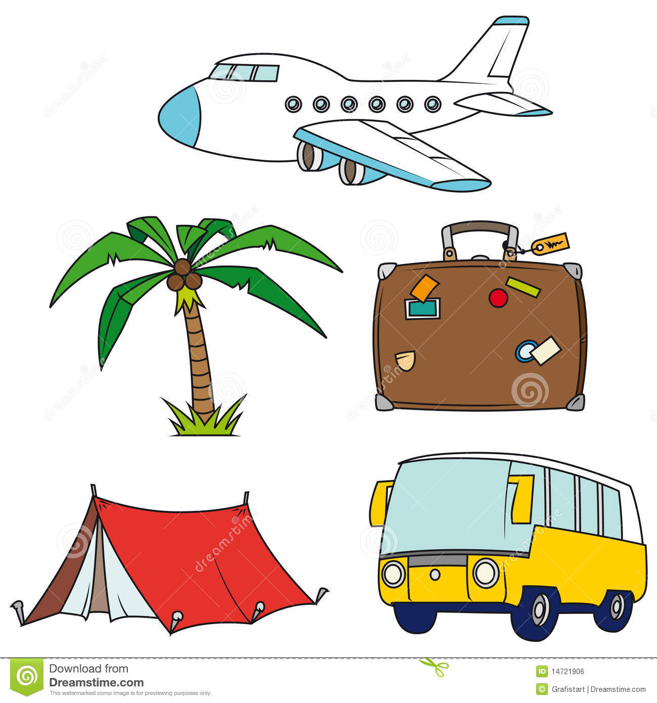 Travel Clip Art For Free.