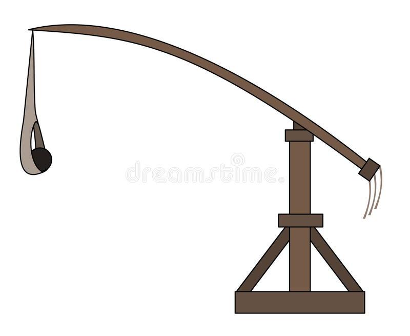 Trebuchet Stock Illustrations.