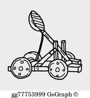 Trebuchet Clip Art.