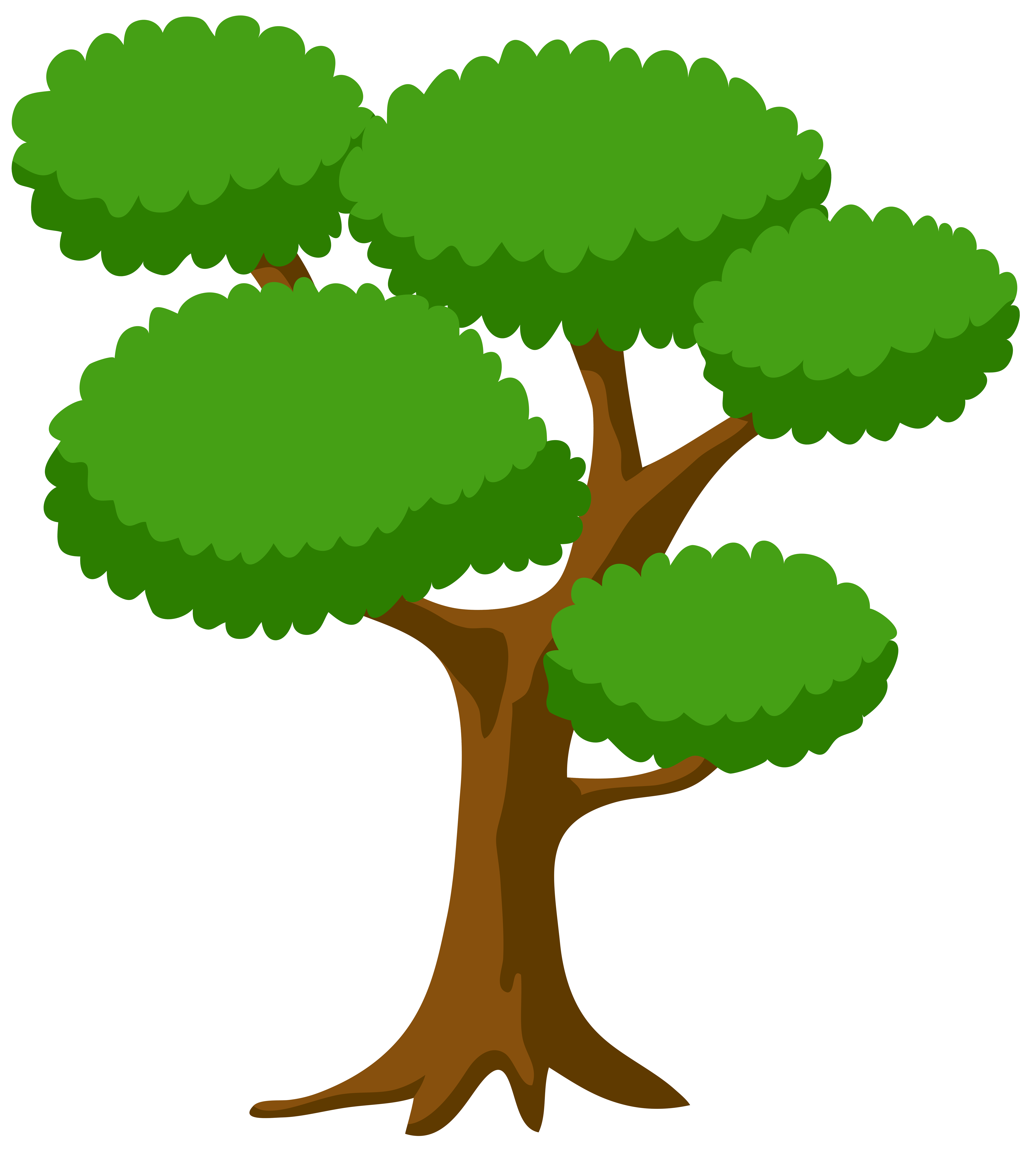 Tree Large PNG Clip Art Image.