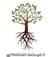 Tree Roots Clip Art.