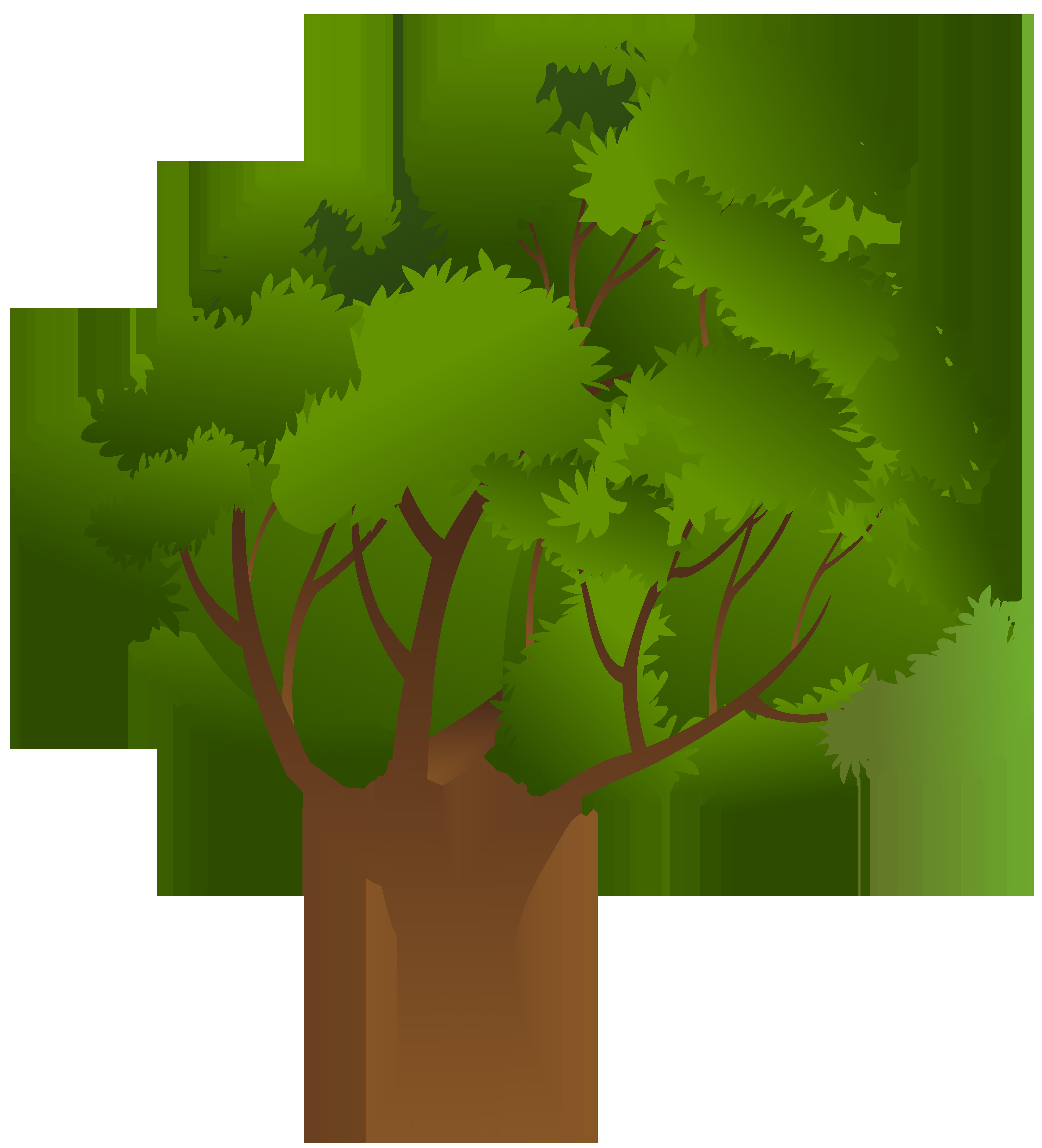 Tree PNG Clip Art Image.