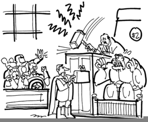 Trial By Jury Clipart.