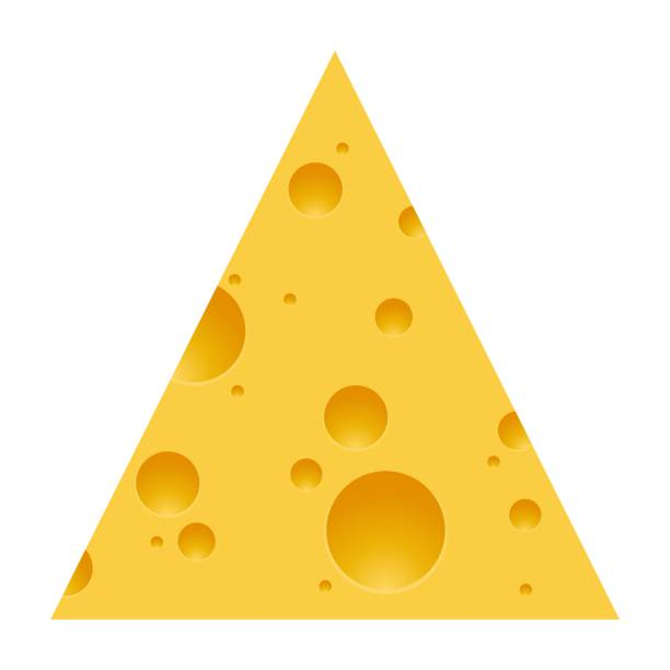 Best Triangle Cheese Illustrations, Royalty.