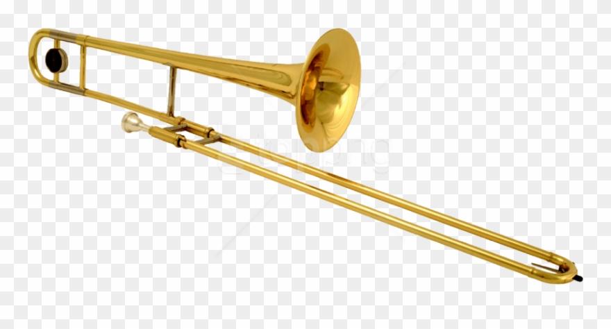 Brass Instruments Trombone Clipart (#4477406).