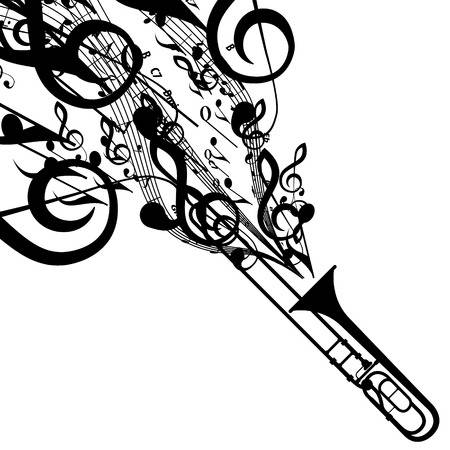2,298 Trombone Stock Vector Illustration And Royalty Free Trombone.