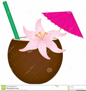 Tropical Drink Clipart Images.