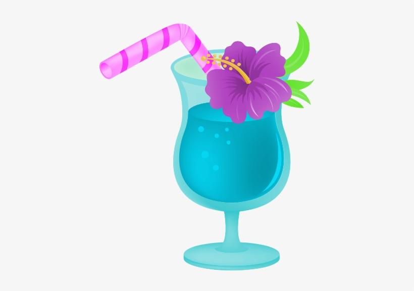 Tropical Drink Clipart Transparent PNG.