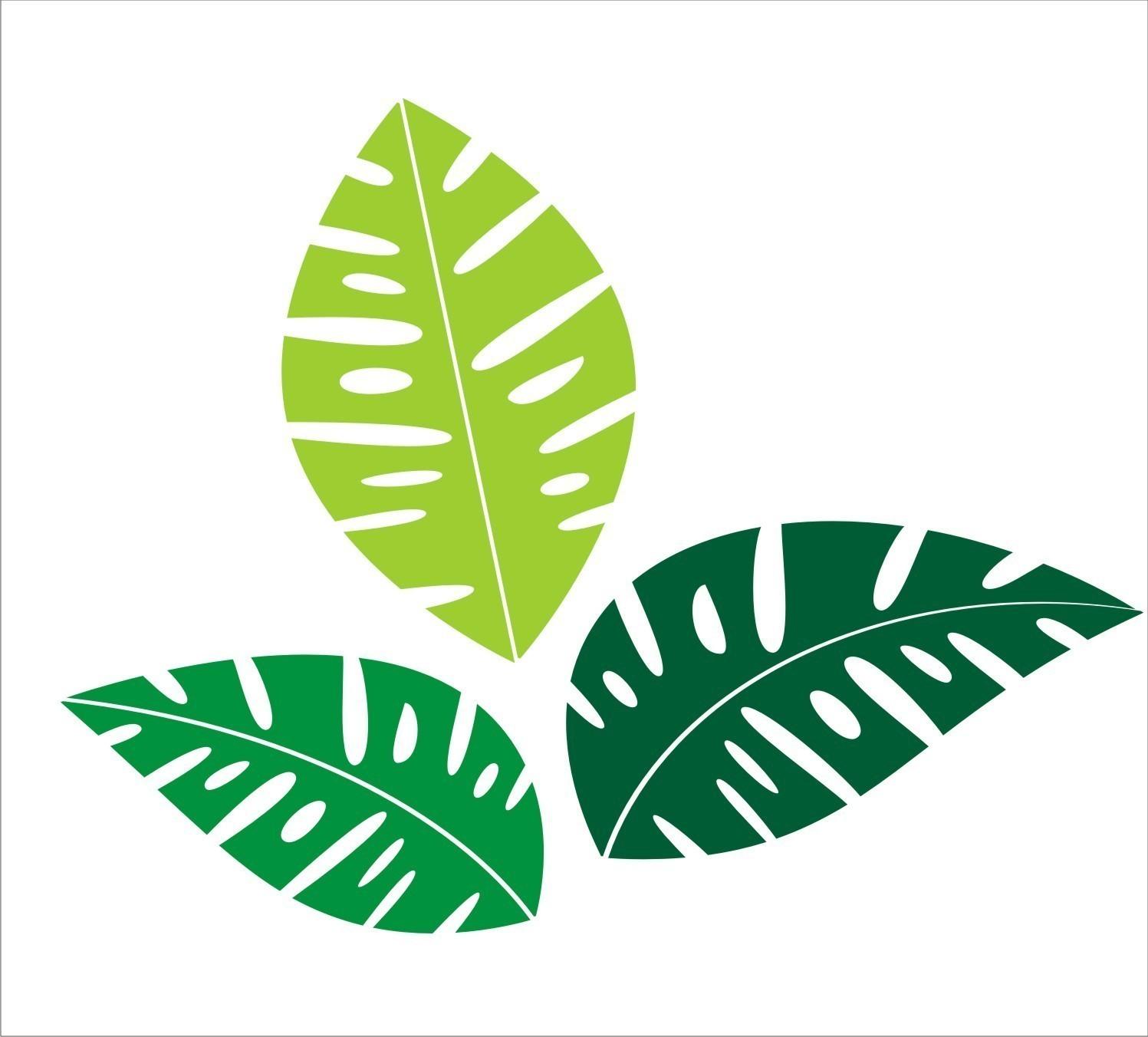 Free Tropical Leaf Cliparts, Download Free Clip Art, Free Clip Art.