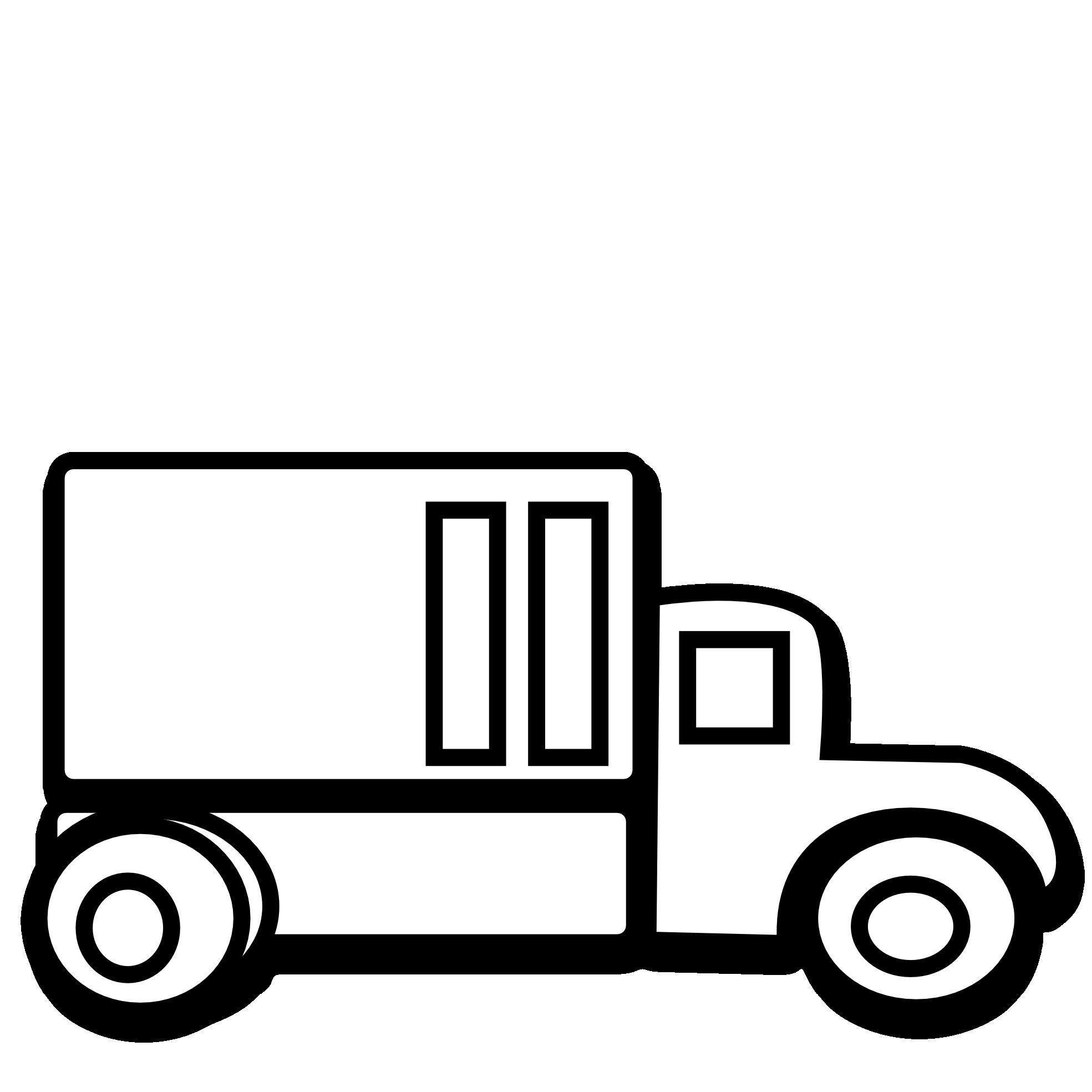 Top Fire Truck Outline Clip Art Images ~ Vector Images Design.