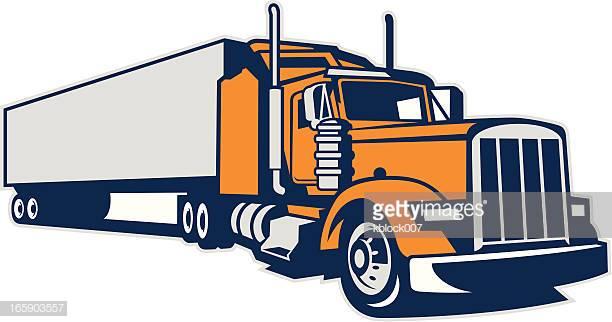 60 Top Trucking Stock Illustrations, Clip art, Cartoons, & Icons.