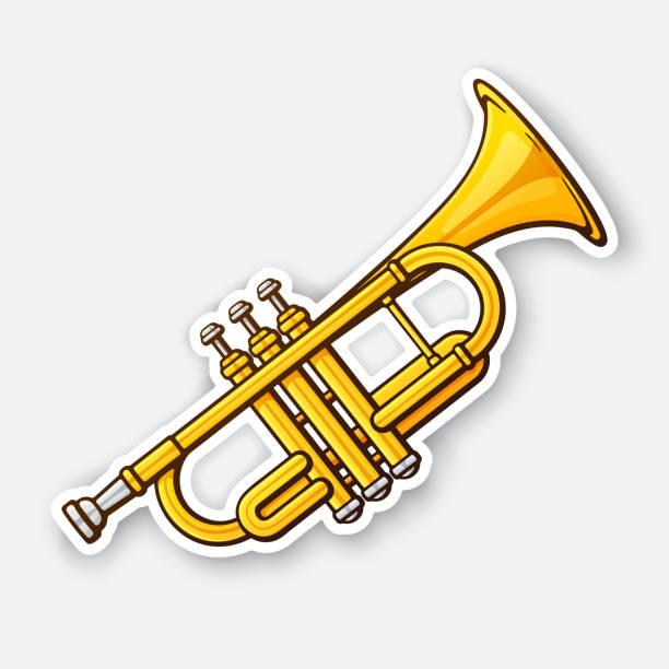 Best Trumpet Illustrations, Royalty.