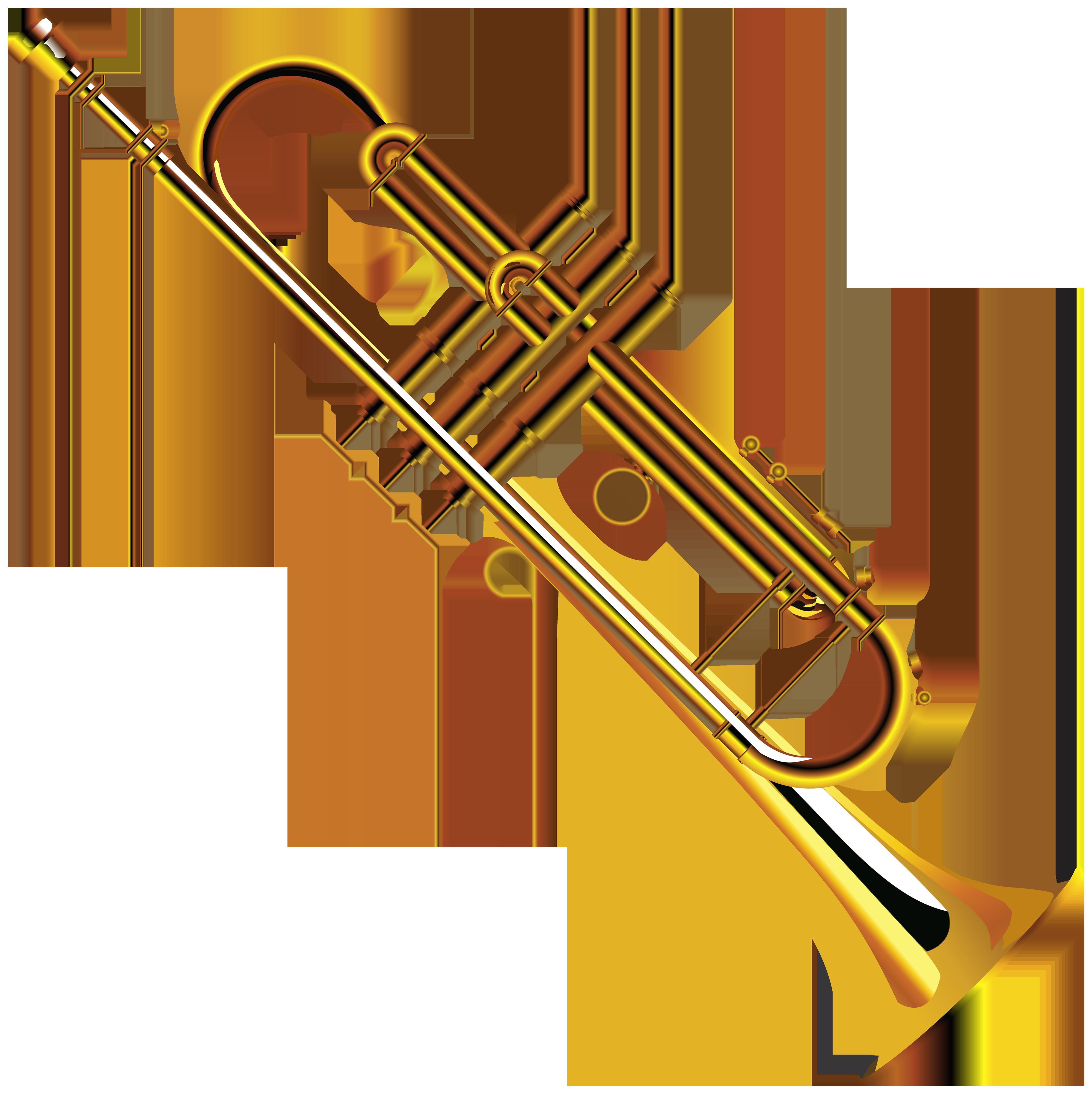 Trumpet PNG Clipart.