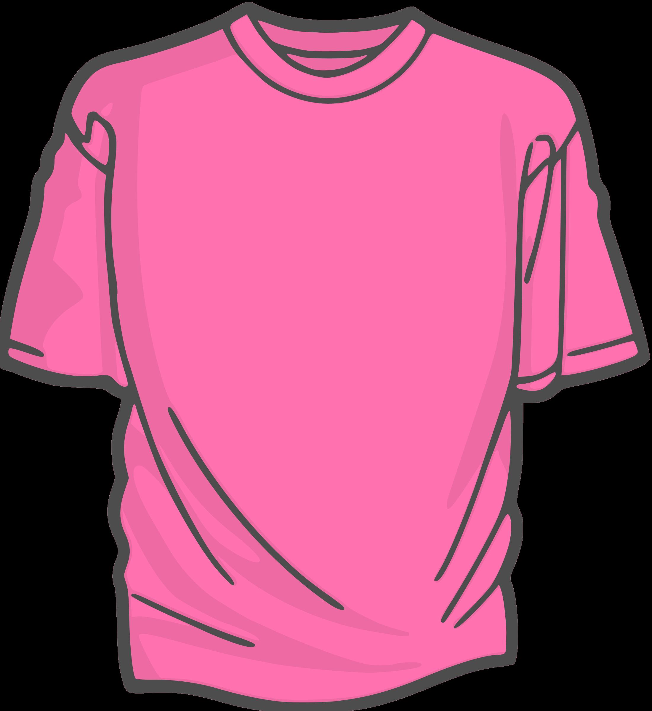 Blank T Shirt Template Clip Art.