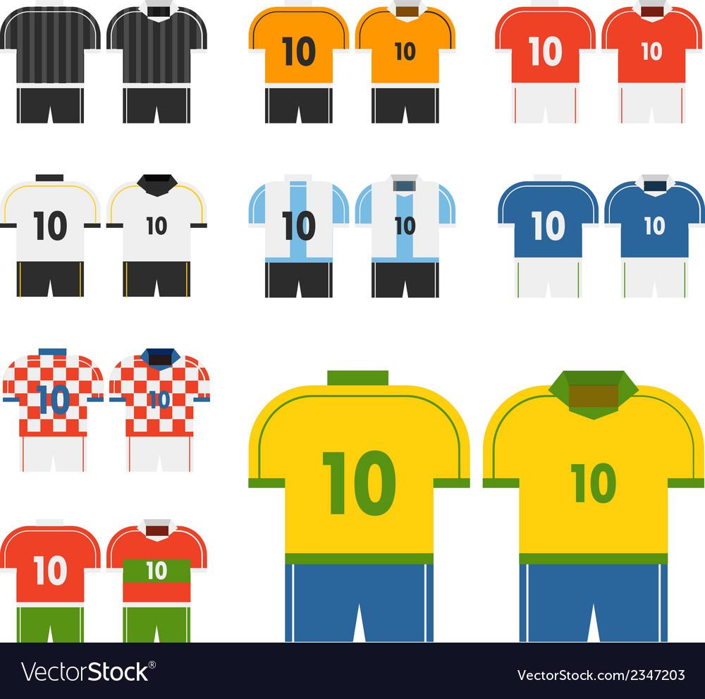 World soccer team t.