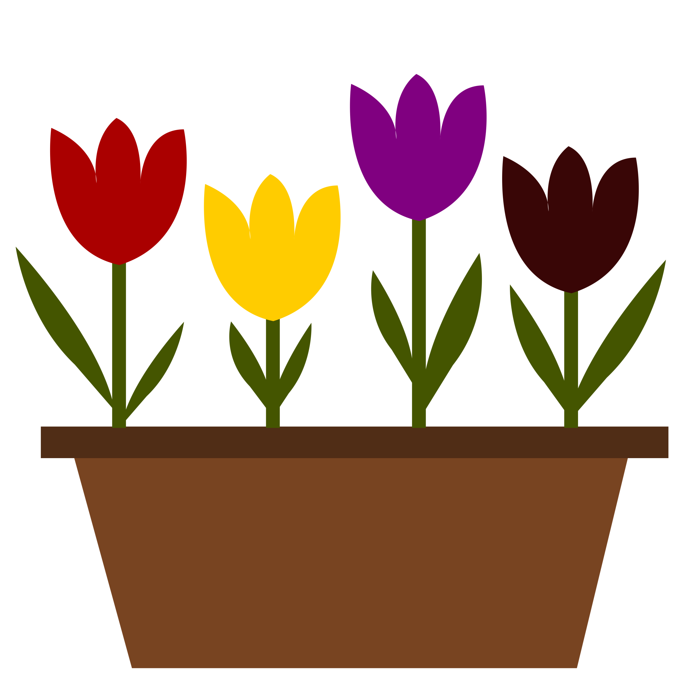 Clipart tulips 4 » Clipart Station.