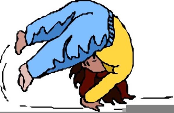 Gymnastics Tumbling Clipart.