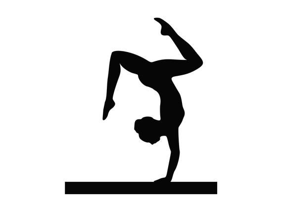 Gymnastics svg, Gymnast svg, Gymnastic Cut File, Acrobat SVG, Files for  Cutting File Acrobatic Clipart Tumbling Clip Art Cricut svg.