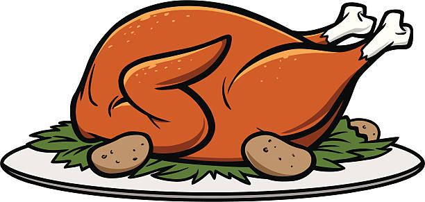 Best Roast Turkey Illustrations, Royalty.