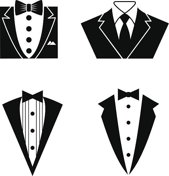 Best Tuxedo Illustrations, Royalty.