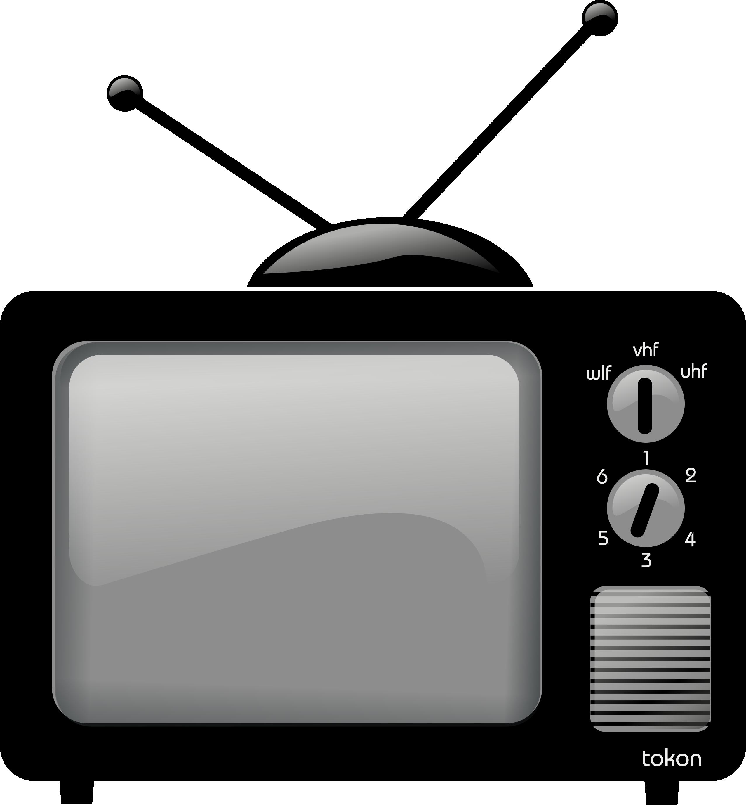 Tv Clip Art Television%.