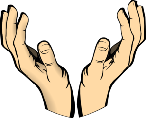 Two hands clipart free images.