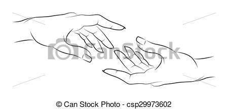 friendship hands.