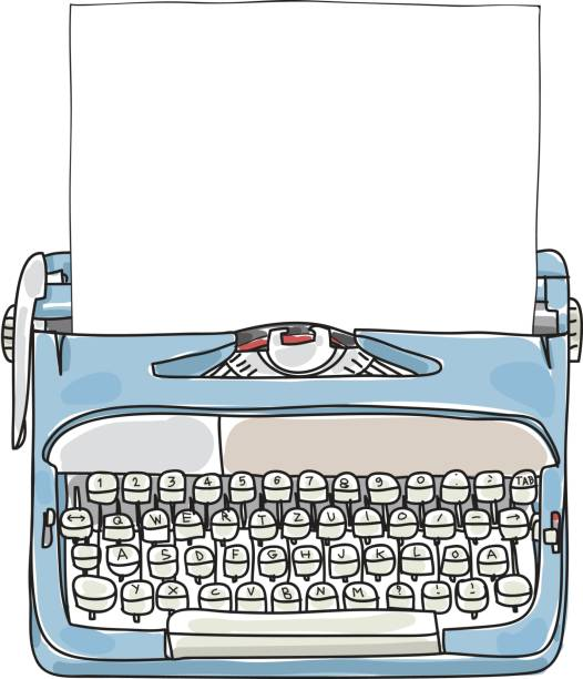 Best Typewriter Illustrations, Royalty.