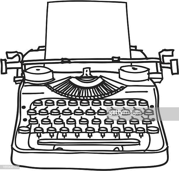 60 Top Typewriter Stock Illustrations, Clip art, Cartoons, & Icons.