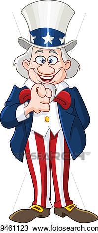 Uncle Sam Clipart.