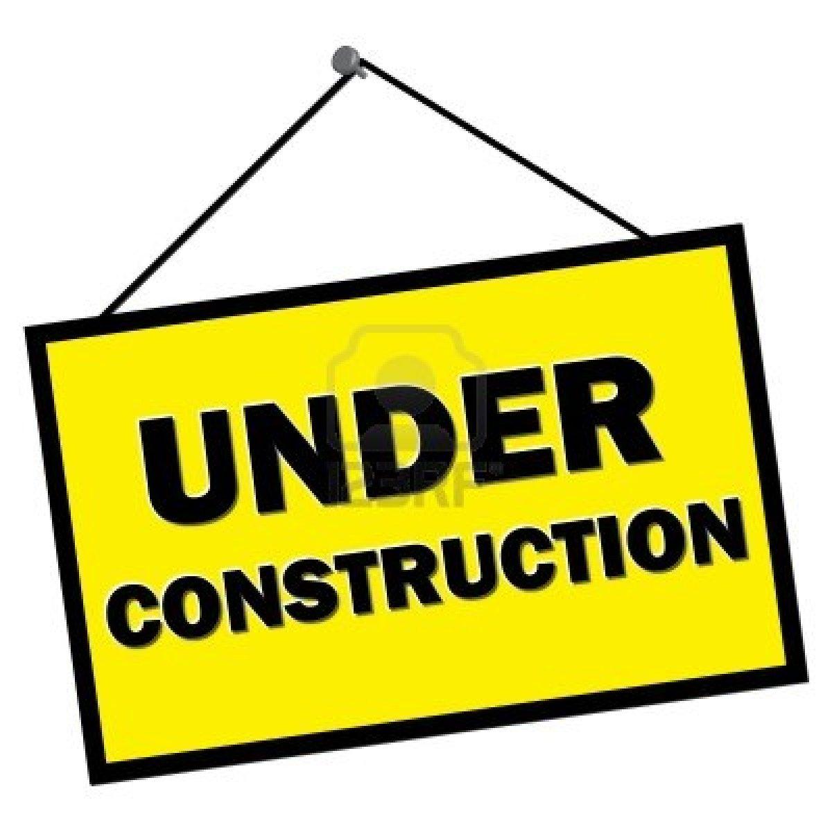 Website Under Construction Image.