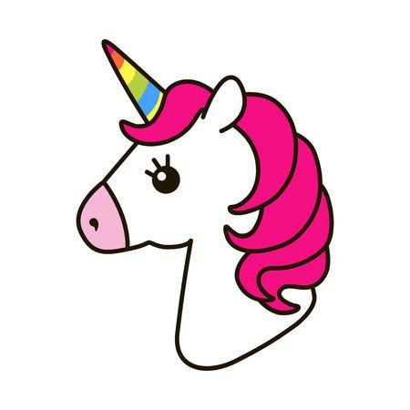 4,716 Unicorn Head Stock Vector Illustration And Royalty Free.
