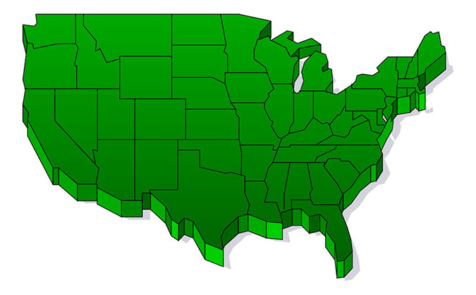 Us Clipart Map.