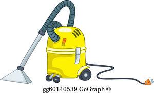 Vacuum Cleaner Clip Art.