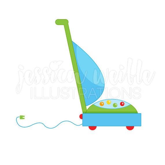 Vacuum Cleaner Cute Digital Clipart, Vacuum Clip art, Cleaning Graphics,  Chores Clipart, Vacuum Cleaner Illustration, #141.